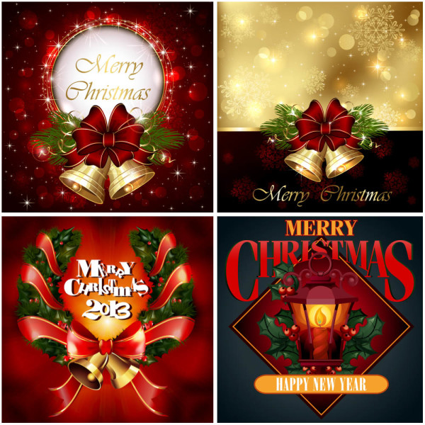 elegant christmas cards - Elegant Christmas Cards