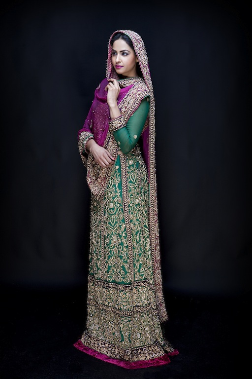 Eastern Bridal Outfit Ideas (23)