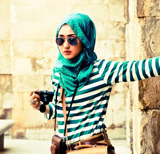 25 Beautiful Hijab styles For Girls - ImpFashion - All News About Entertainment