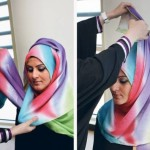 Multi Colour Hijab Styles For Beautiful Girls