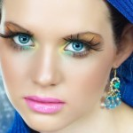 Showy and Flashy Party Eye Makeup