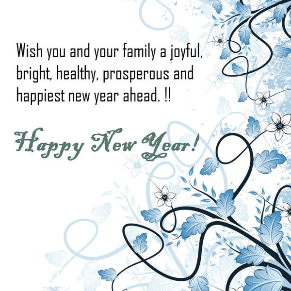 happy new year 2014 latest wishes