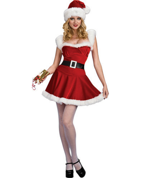 how to make a santa dress
