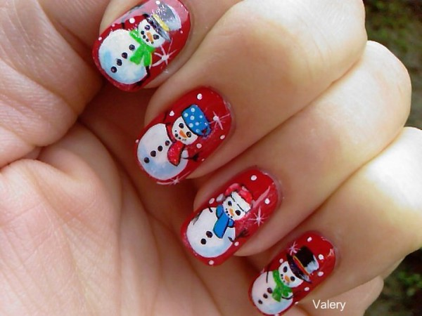 Winter Nail Arts