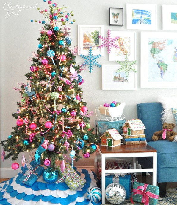 Candy Colored Christmas Tree  ImpFashion All News About