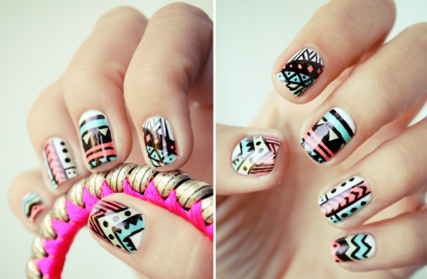 30 Funky And Trendy Nail Art Designs For 2014