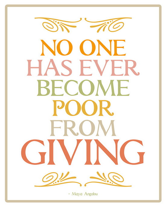 Give to The Poor Quotes Poor From Giving Health Quotes