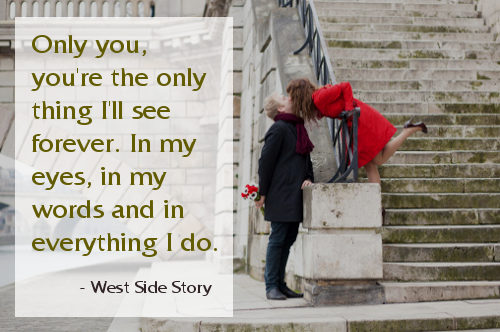 35 most romantic quotes for lovers