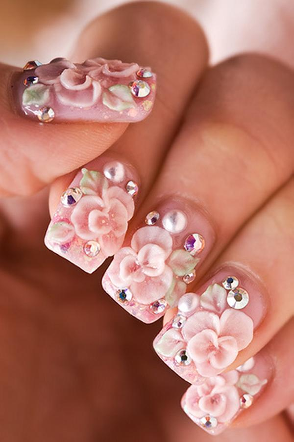 50 most beautiful 3d nail art designs for girls 3d nail art prinsesfo Gallery