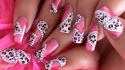 Pink 3d nail designs gallery nail art and nail design ideas 50 most beautiful 3d nail art designs for girls pink nail 3d nail art prinsesfo gallery prinsesfo Image collections
