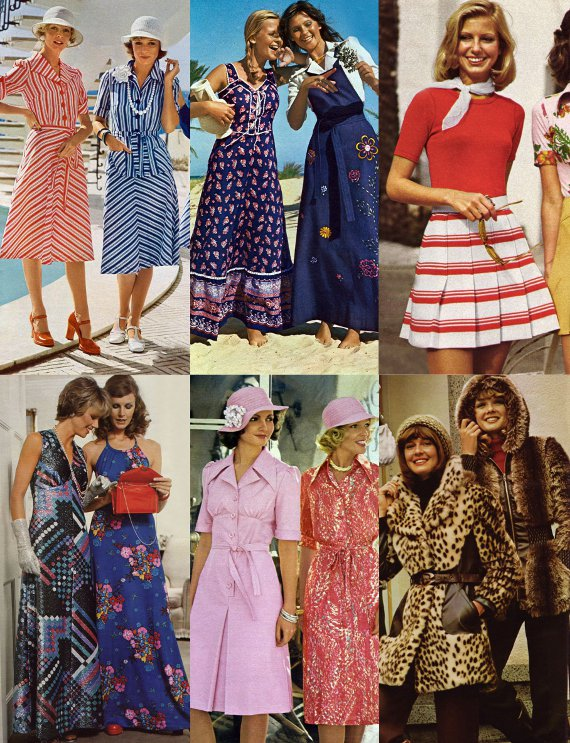 70's style clothing for women