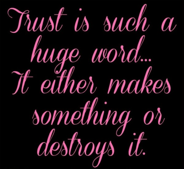 quotations on trust - photo #33