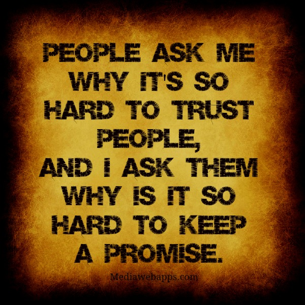 quotations on trust - photo #17