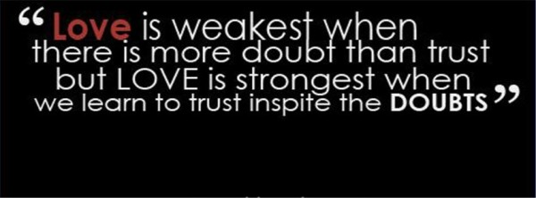 Quotes On Love And Trust Cool 50 Best Ever And Heart Touching Trust Quotes For You