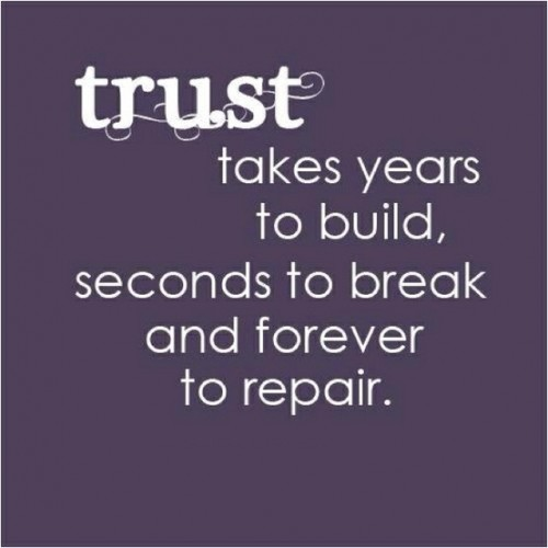 quotes about trust - photo #16