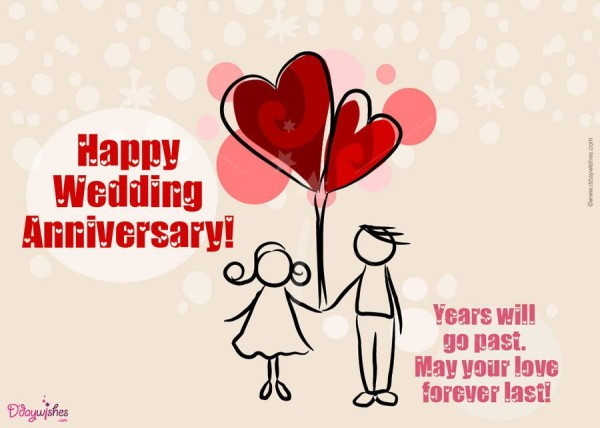 55+ Most Romentic Wedding Anniversary Wishes