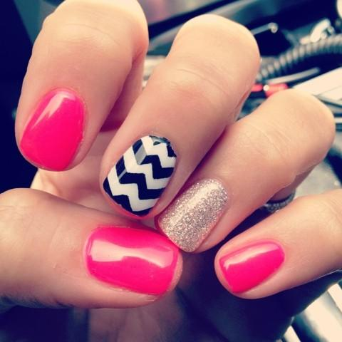 45 nail art tumblr collection for you on nail art ideas on - Easy Nail Design Ideas