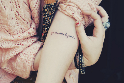 40 pretty tattoos collection for pretty girls - Tatouage femme discret ...