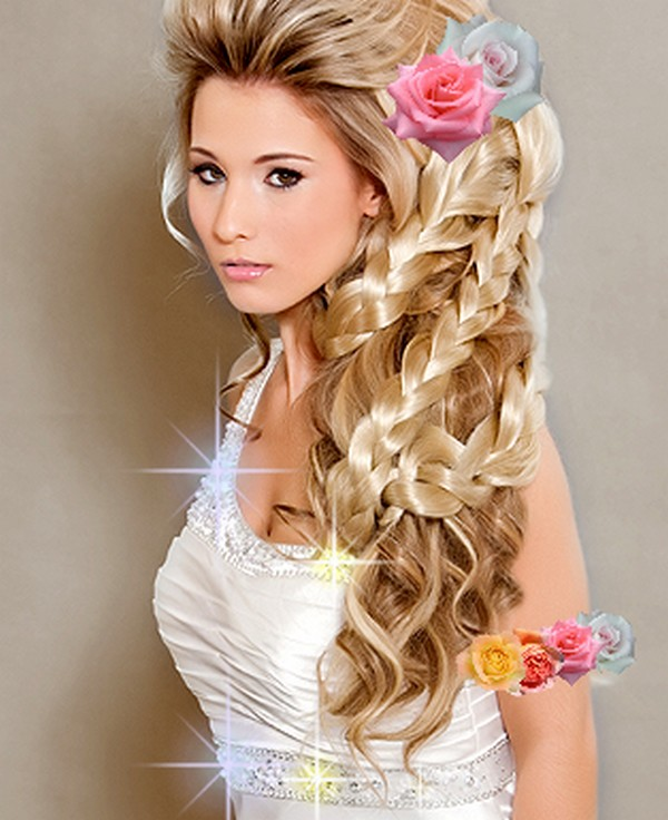 Hairstyles Fashion : 15. Difficult Styling for Wedding Brides