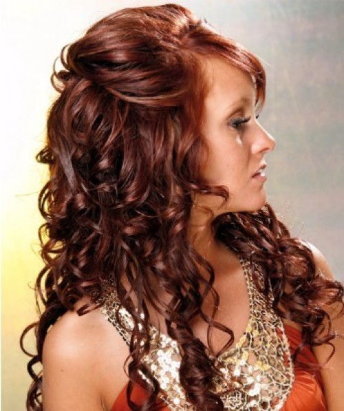 Hair Style For Curly Hair Long Curls In Hairs  Impfashion  All News About Entertainment