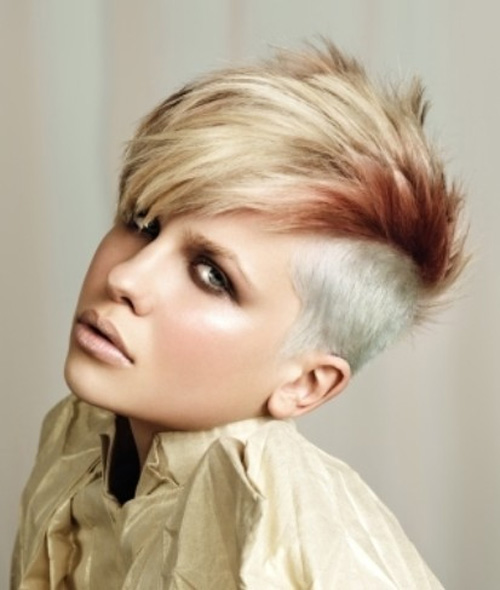 Short Wild Hairstyles for Women