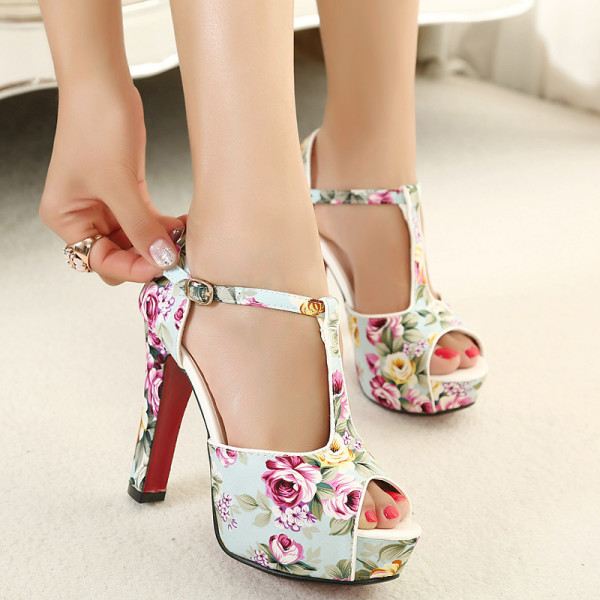 2015-Summer-Shoes-Floral-Print-Ankle-Strap-High-Heels-Womens-Sandals-Platform-Ladies-Evening-Party-Shoes