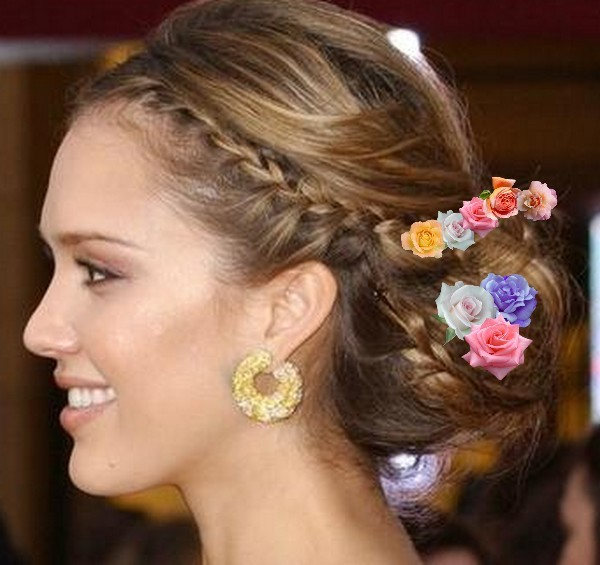 Bridal-Hair-Styles-In-Summer-Wedding
