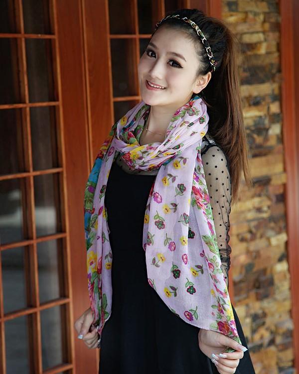 Printed-scarves