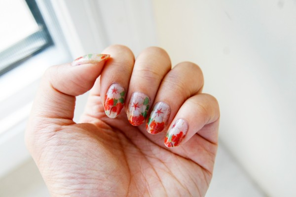 Born Pretty Store Romantic Flower Pattern Nail Art Applique