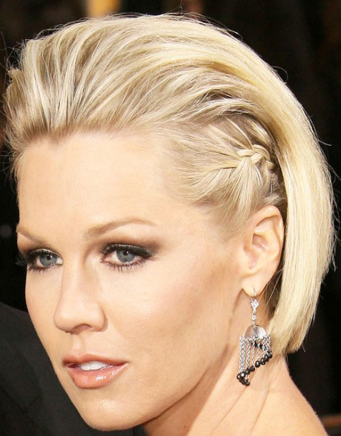 Jennie-Garth-Braid-Short-Bob-Prom-Hairstyles-2014