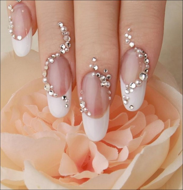 Nail-Art-Designs-Luxury-Nail-Design-Crystals-For-Wedding