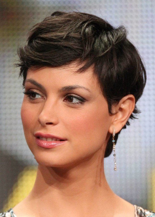 BEVERLY HILLS, CA - AUGUST 04:  Actress Morena Baccarin speaks during the 'Homeland' panel during the Showtime portion of the 2011 Summer TCA Tour held at the Beverly Hilton Hotel on August 4, 2011 in Beverly Hills, California.  (Photo by Frederick M. Brown/Getty Images)