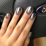 Glittering Nail Trends For Spring 2015