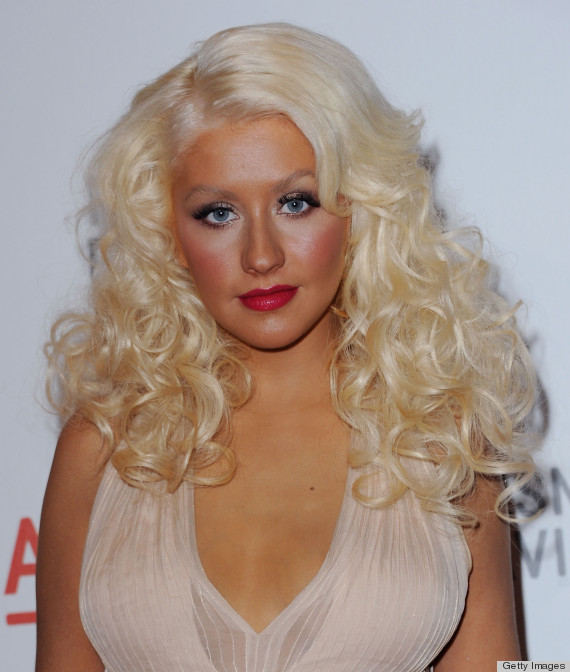 "LOS ANGELES, CA - SEPTEMBER 25:  Singer Christina Aguilera arrives at LACMA Presents ""The Unmasking"" Of Resnick Pavilion Opening Gala at LACMA on September 25, 2010 in Los Angeles, California.  (Photo by Jon Kopaloff/FilmMagic)"