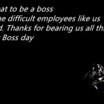 Best Sample Message For Boss's Day