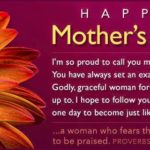 Amazing mother day poem card Image