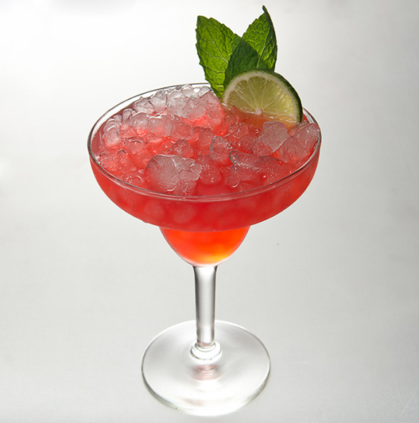 Strawberry Basil Margarita drink