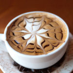 Amazing coffee latte art
