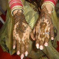Back Hand Mehndi Design Wallpaper