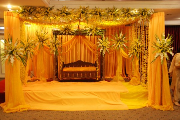 Beautiful wedding stage decoration hd wallpapers for Background decoration images