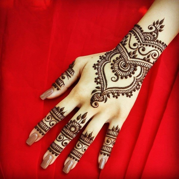 Stylish Trendy Arabic Mehandi Designs Collection For Hands Wallpaper