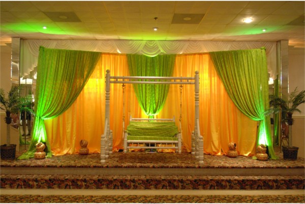 Mehndi Stage Background : Beautiful wedding stage decoration hd wallpapers
