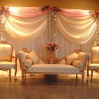 latest Wedding Stage Decoration Images