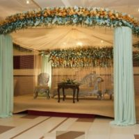 Latest Wedding Stage Design Image