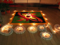 happy rangoli diwali