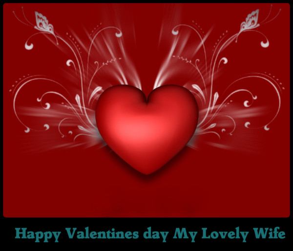Valentine day for wife