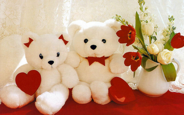 Adorable Romantic Valentine's Day Teddy Bears