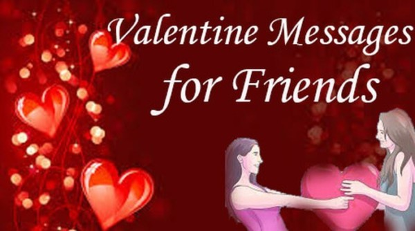 Happy valentine day messages friends