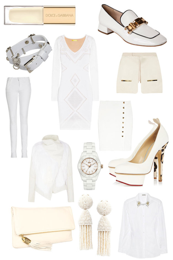 Winter White Wardrobe