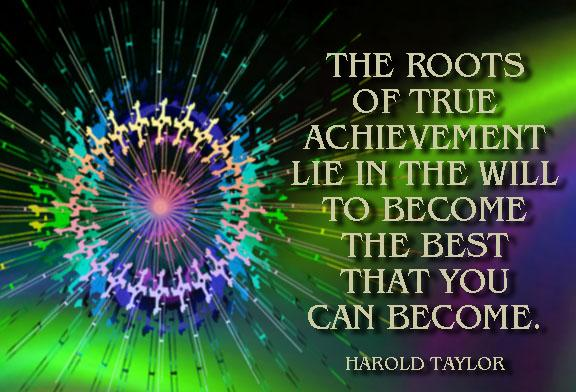 Beautiful Achievement Quotes
